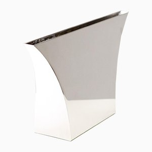 Large Silver Vase by Lino Sabattini, 1960s