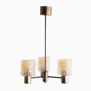 Three-Arm Chandelier by Carl Fagerlund, 1960s
