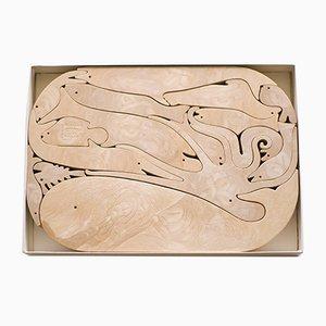 Sculpture par Enzo Mari pour Danese, années 70
