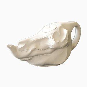 Théière Crâne par Somers Ages, années 2000
