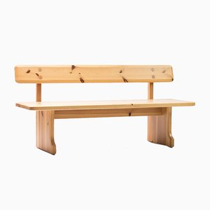 Pine Bench by Carl Malmsten, 1960s