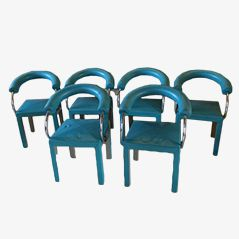 Arcadia Chairs by Paolo Piva for B&B Italia, 1985, Set of 6