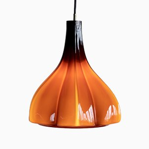 Murano Glass Pendant Lamp by Massimo and Lella Vignelli for Venini, 1960s