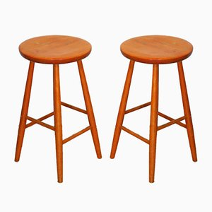 Stools by Hagafors for Hagafors, 1970s, Set of 2