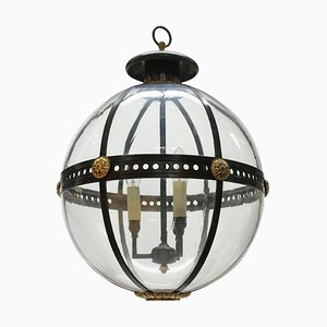 English Regency Style Globe Light, 1970s