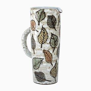 Jarra de cerámica de Jean-Claude Malarmey, años 60
