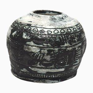 Vaso in terracotta di Jacques Blin, anni '60