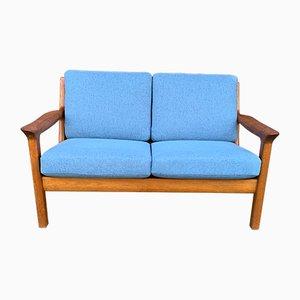 2-Sitzer Sofa mit Gestell aus Teak von Kristensen Juul, 1960er