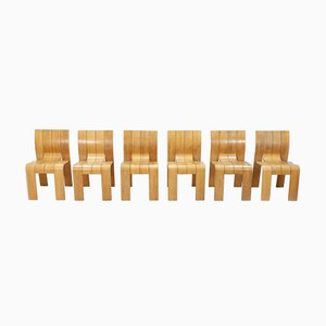 Dining Chairs by Gijs Bakker for Castelijn, 1974, Set of 6