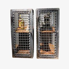 Industrial Steel Cage Cabinet