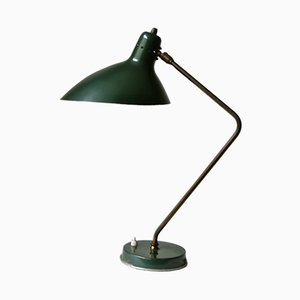 Dark Green Table Lamp by Lacroix, Jean Boris, 1960s