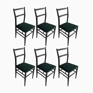 Mid-Century Chiavarine Dining Chairs, Set of 6
