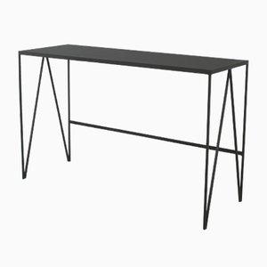 Schreibtisch mit Linoleumplatte von & New