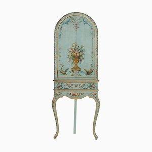 Mid-Century Rococo Gilt Wood Cabinet