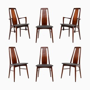 Danish Rosewood Dining Chairs by Niels Koefoed, 1960s, Set of 6