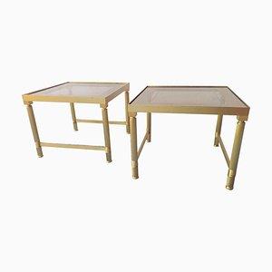 Tables Basses de Maison Jansen, 1970s, Set de 2