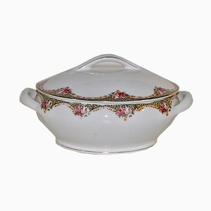 Terrine aus Keramik von Societe Ceramique, 1950er