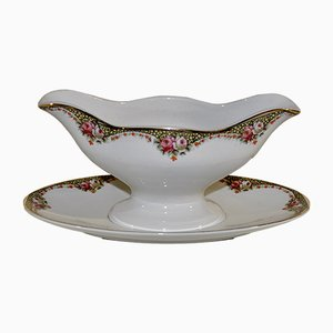 Ceramic Saucer from Societe Ceramique, 1950s