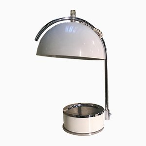 Tischlampe aus Stahl von Harvey Guzzini, 1970er