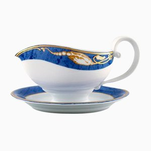 Magnolia Sauce Boat from Royal Copenhagen, 1990s
