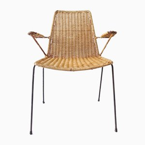 Basket Side Chair by Gian Franco Legler for legler, 1950s