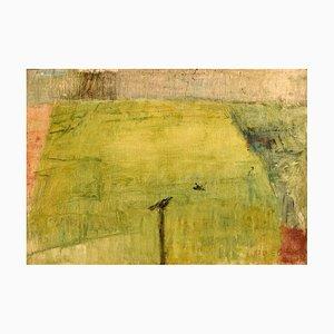 Olio su tela modernista di Lili Ege, anni '70