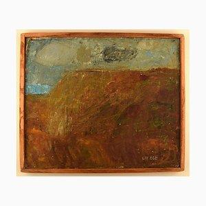 Olio su tela from the West Coast di Lili Ege, anni '70