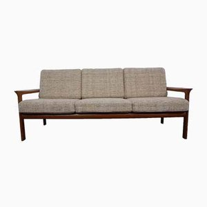 Teak 3-Seater Sofa by Sven Ellekaer for Komfort, 1970s