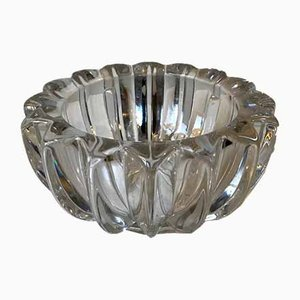 French Art Deco Glass Dish by Pierre D'avesn for Pierre D'avesn, 1940s