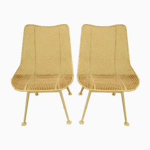 Mid-Century Garden Chairs by Woodard Russell, Set of 2