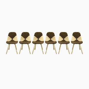 Wire Chairs by Charles & Ray Eames for Herman Miller, Set of 6