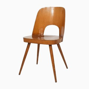 Czechoslovakian Model N515 Plywood Dining Chair by Oswald Haerdtl for Thonet, 1950s