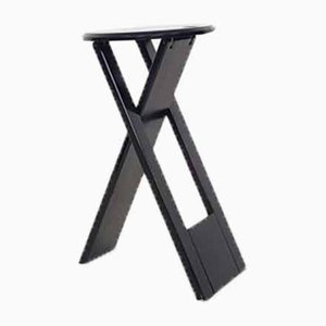 British Black Suzy Stool by Adrian Reed for Princes Design, 1980s