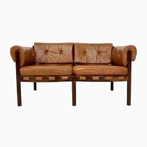 Rosewood Sofa by Arne Norell for Coja, 1960s