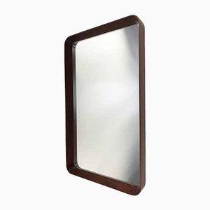 Specchio in teak, Italia, anni '50