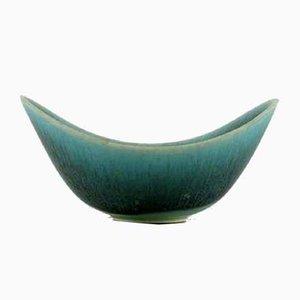 Scodella Mid-Century in ceramica smaltata di Gunnar Nylund per Rörstrand