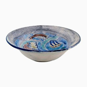 Hand Painted Bowl by Julie Bloch Kyhn for Kähler, 1923
