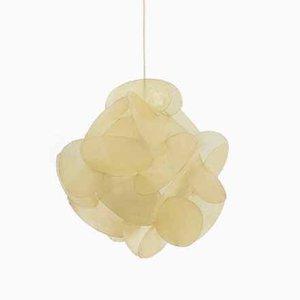 Deckenlampe aus Glasfaser von Enrico Botta für Sundown, 1968