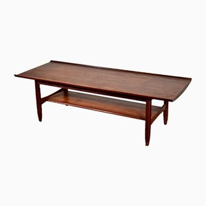Danish Teak Coffee Table by Finn Juhl for France & Søn/France & Daverkosen, 1960s