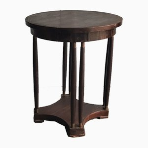 Art Nouveau Mahogany Side Table, 1920s