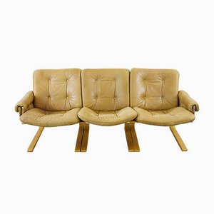 3-Seater Sofa by Elsa & Nordahl Solheim for Rybo Rykken & Co, 1970s