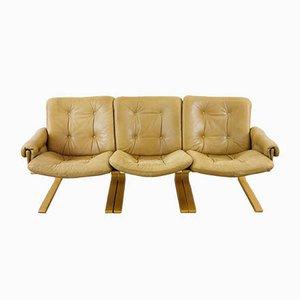 Canapé 3 Places par Elsa & Nordahl Solheim pour Rybo Rykken & Co, 1970s