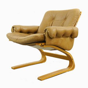 Lounge Chair by Elsa & Nordahl Solheim for Rybo Rykken & Co, 1970s