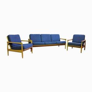 Divano Kolding e poltrone di Ikea, anni '60, set di 3