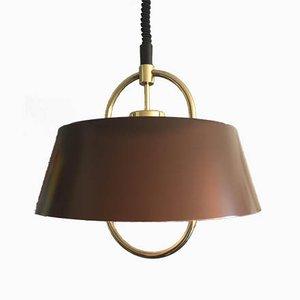 Lámpara colgante danesa de Johannes Hammerborg para Fog & Mørup, años 60