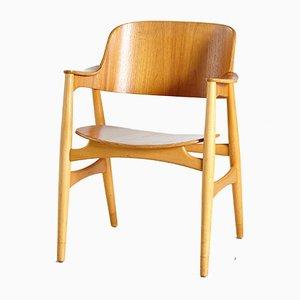 407 Armlehnstuhl aus Eiche von Jens Hjorth für Randers Stolefabrik, 1960er