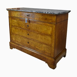 Antique French Elm Chest of Drawers, 1860s