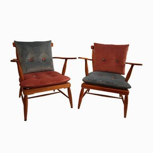 Armchairs by Anna Lülja Praun , 1960s, Set of 2