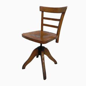 Chaise de Bureau Industrielle, 1930s