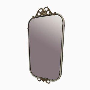 Specchio in alluminio, anni '50